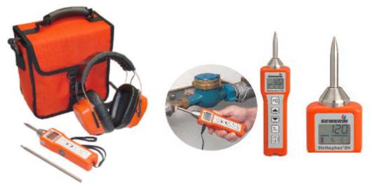 小型音調式漏水探索機 ステットフォンSDR